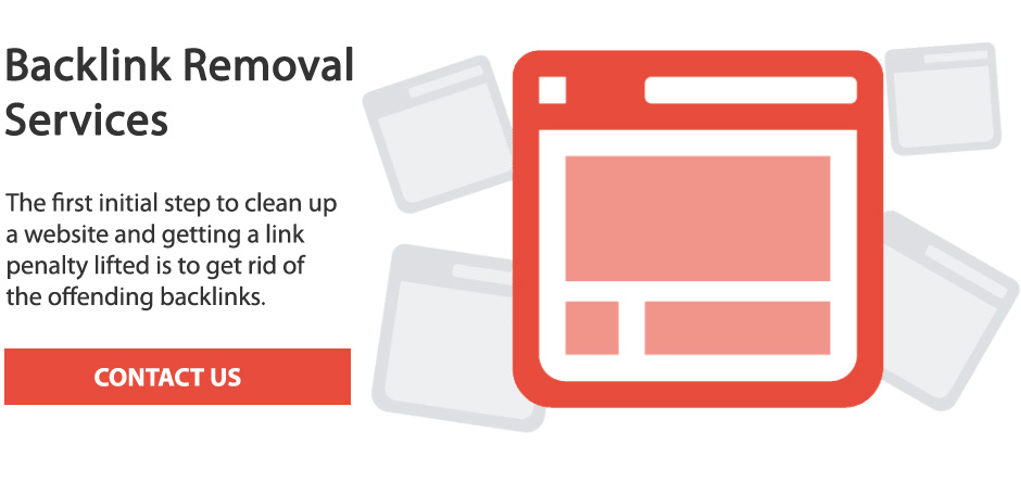Backlink removal services